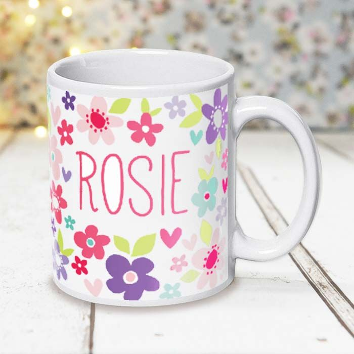 Beautiful Colourful Flowers - Mug
