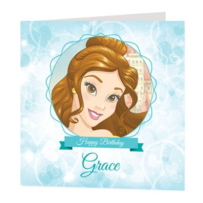 Belle Luxury Personalised Card