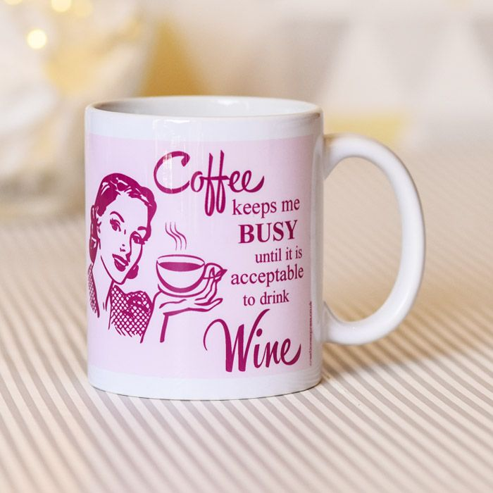 Coffee Keeps Me Busy... - Mug