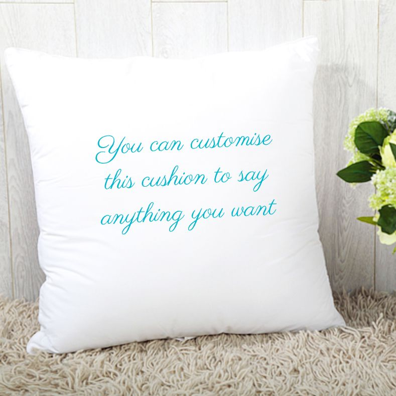 Customise Any Text - Personalised Cushion