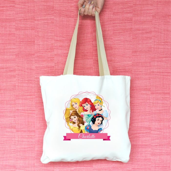 Disney Princess Personalised Tote Bag