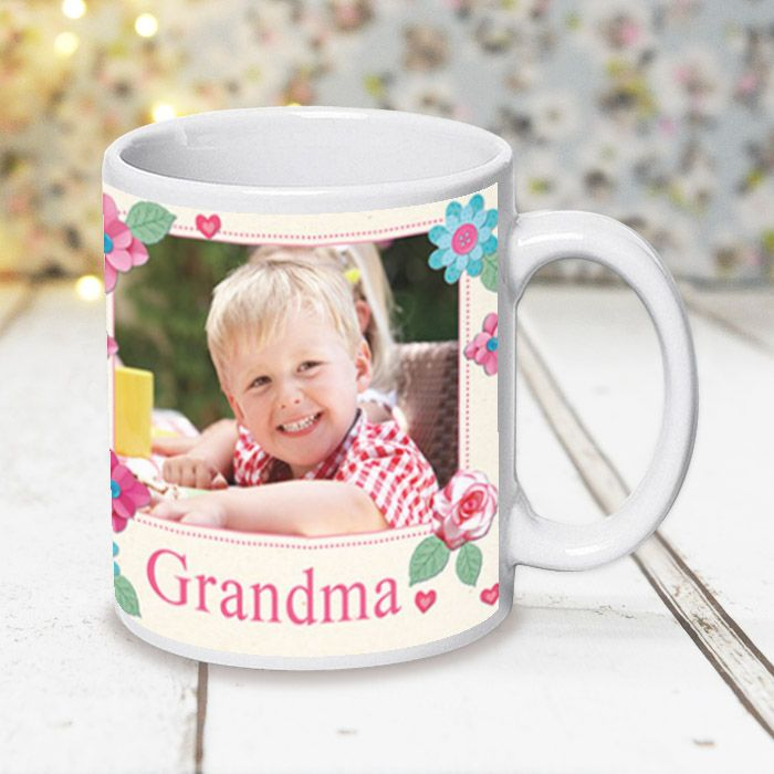 Fabrique Grandma With Photo Upload - Mug