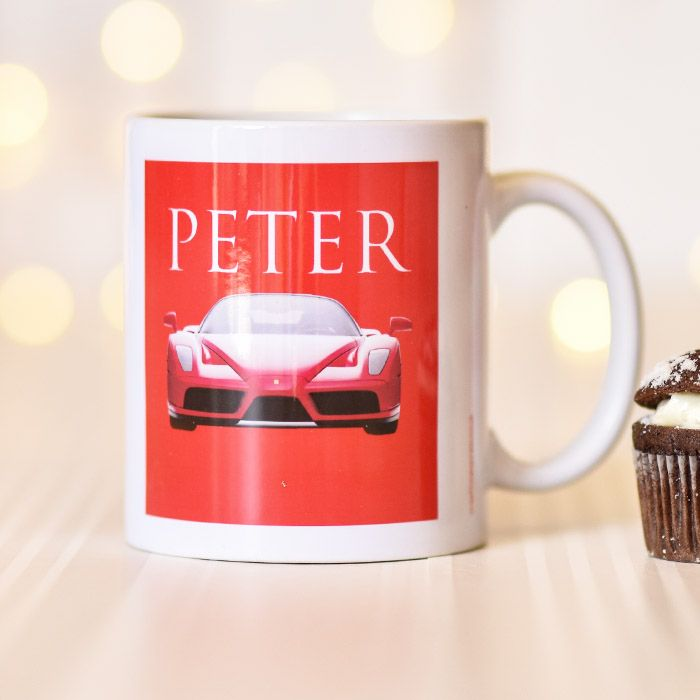 Ferrari Red Car - Mug