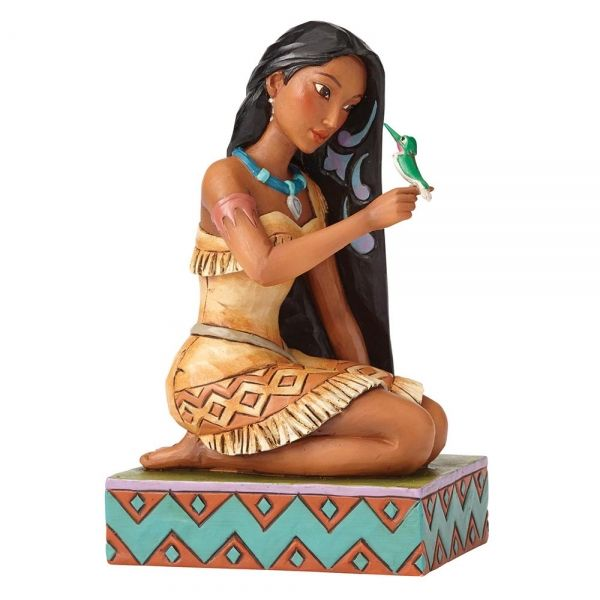 Free & Fierce - Pocahontas with Flit Figurine