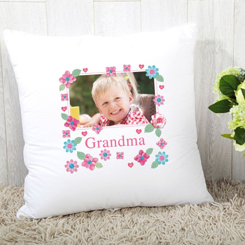 Grandma/Gran/Nanna  Cushion - Photo Upload