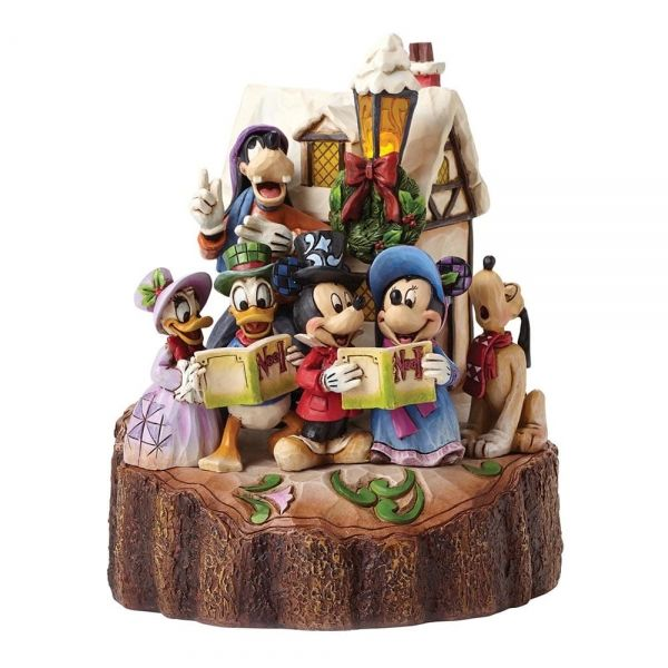 Holiday Harmony (Mickey Mouse & Gang Carolling Figurine)