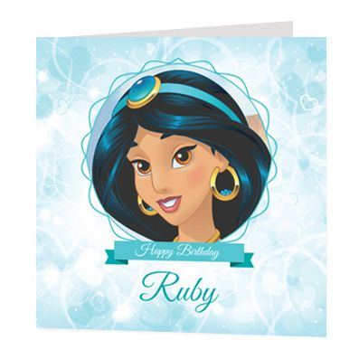 Jasmine Luxury Personalised Card