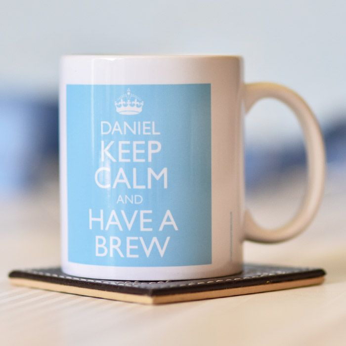 Keep Calm Blue - Mug