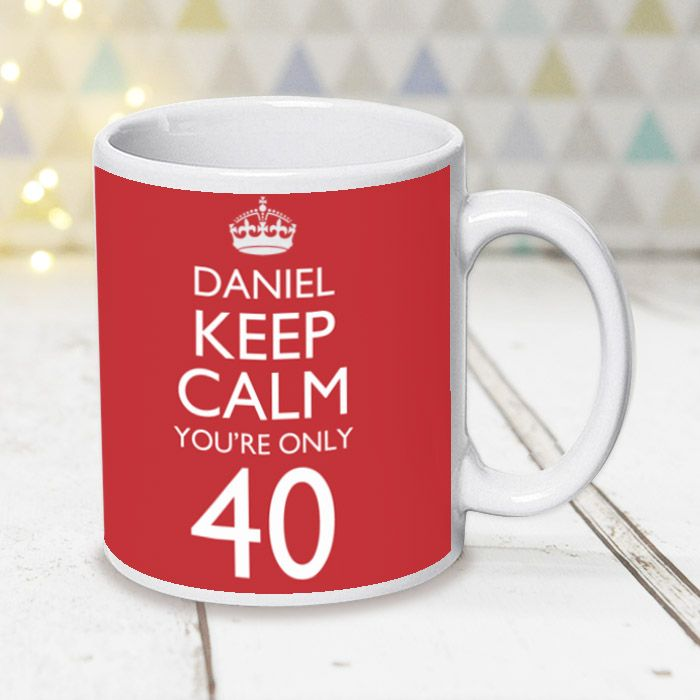 Keep Calm You're Only... With Photo Upload- Mug