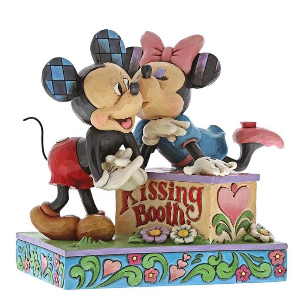 Kissing Booth (Mickey Mouse & Minnie Mouse Figurine)
