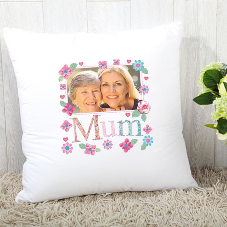 Mum Cushion - Photo Upload