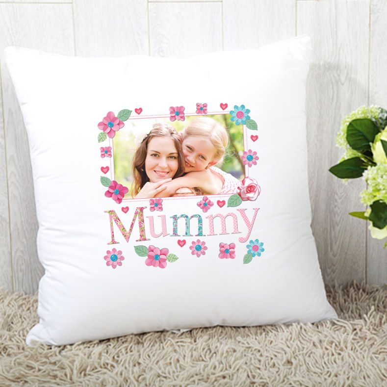 Mummy Cushion - Photo Upload