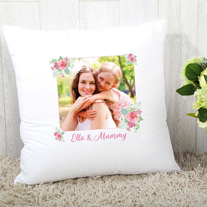 Mummy & Me Cushion - Photo Upload