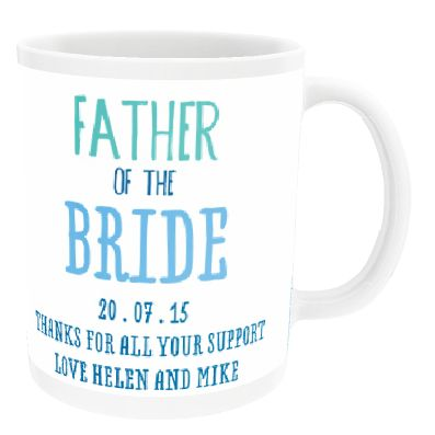 Personalised 'Father Of The' China Cup