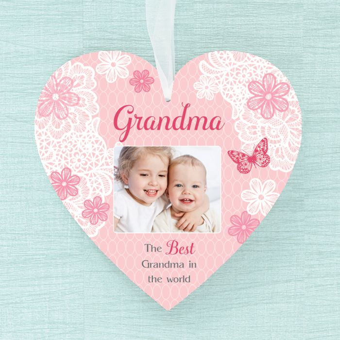 Personalised  Heart - Best Grandma
