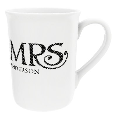 Personalised Mrs 'Surname' China Cup