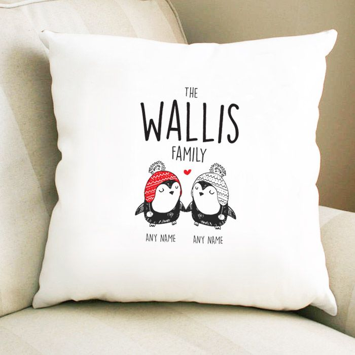 Personalised Penguin Couple