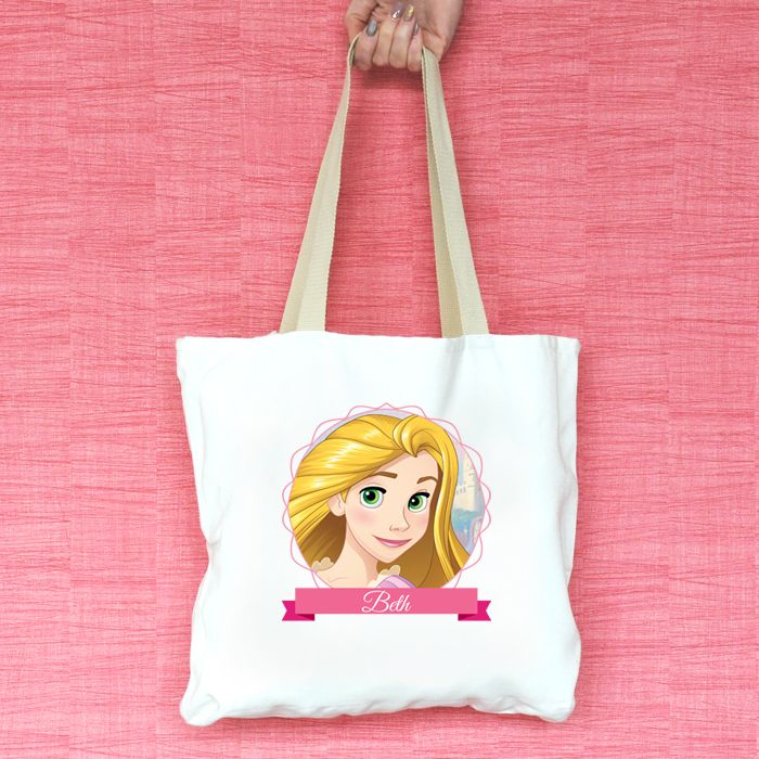 Rapunzel Personalised Tote Bag