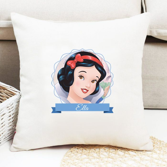 Snow White Personalised Cushion