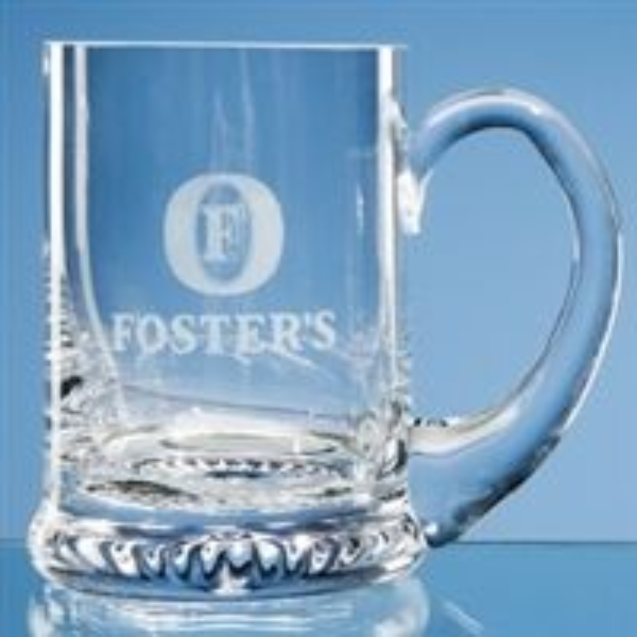 Star Based Glass Tankard