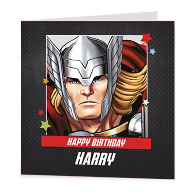 Thor Luxury Personalised Card
