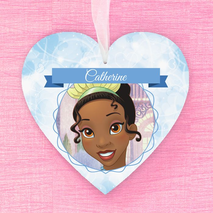 Tiana Personalised Hanging Heart