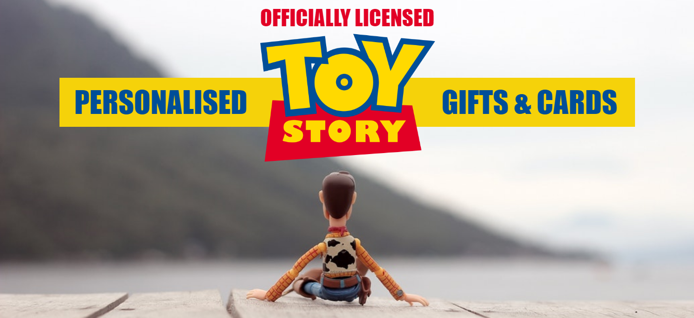 Toy Story 4 Personalised Gifts & Cards